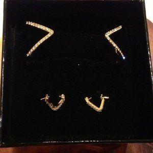 Victoria's Secret Bracelet & Earrings Set